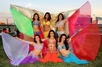 2014-0621 Cameltonian & Ostrich Derby featuring Belly Dancing by Amira Mor @Meadowlands Racing & Entertainment